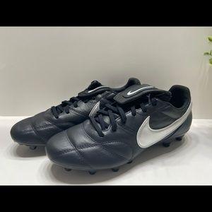 NEW Nike Premier II Noir Metallic Silver Black